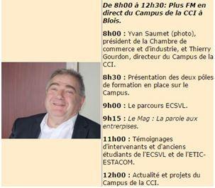 L'ECSVL  est aussi sur Plus FM !