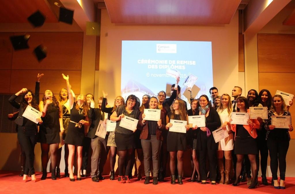 L'ECSVL félicite ses diplômés !