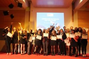 Cérémonie de remise des diplomes 2015