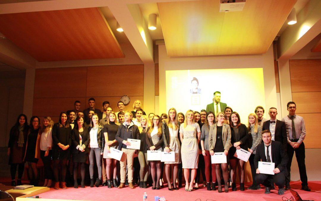 L'ECSVL célèbre la remise des diplômes des promotions 2015-2016