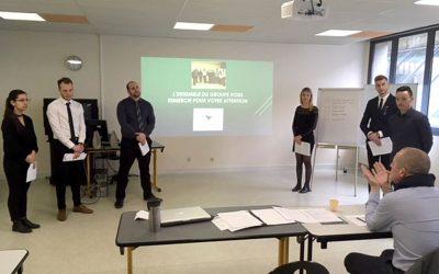 Les étudiants de la filière «Banque/Assurance» à la pointe des évolutions digitales !