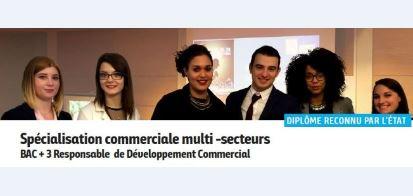 Bilan de la première promotion Bac+3 RDC à l'ECSVL Blois
