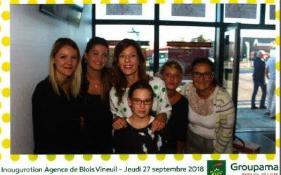 L'ECSVL à l'inauguration de la nouvelle agence Groupama de St Gervais la Forêt (41)