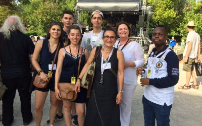Les étudiants du Campus participent à Jazz'In Cheverny
