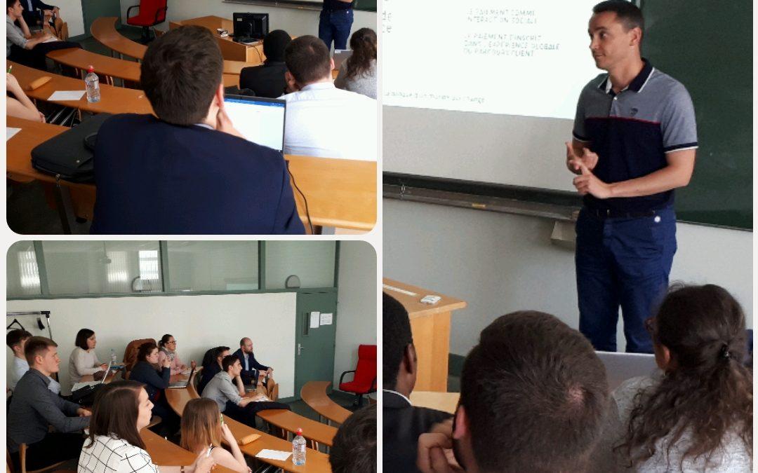 Atelier numérique avec la BNP Paribas pour les étudiants de la filière Banque Assurance