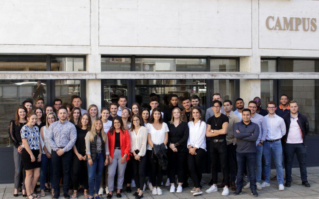 Les Bac+3 «Responsable de Développement Commercial» du Campus Centre Blois font leur rentrée !